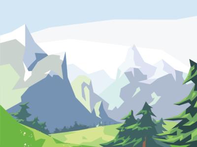Mountain Series #10