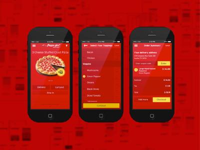 Pizza Hut Mobile App
