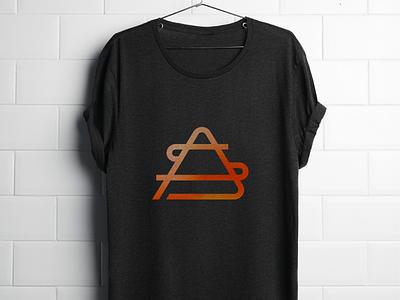 Shirt Logo Concept lines graphic design concept logo shirt