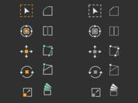 Icons for Blender (3D software)