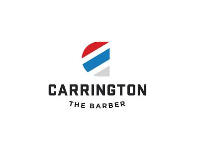 Carrington The Barber brand design designer freelance logo logodesign identity design branding