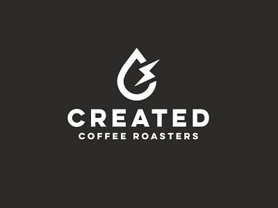 Created Coffee design logodesign identity design logo freelance designer branding brand design