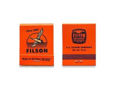 Filson Matchbook freelance designer branding brand design