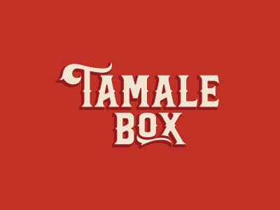 Tamale Box identity design freelance designer branding brand design logodesign logo