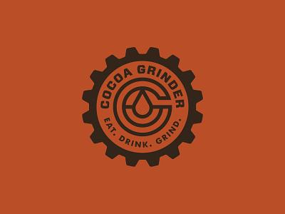 Cocoa Grinder freelance designer brand design branding identity design logodesign logo