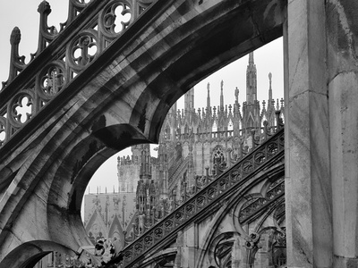 Milan Cathedral architecture milano terraces detail italy grey architecture shot photography gothic catholic cathedral milan