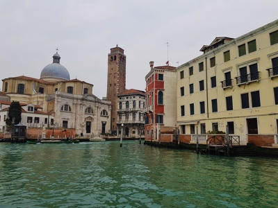 Cloudy day in Venice venetian canal old river architecture italy photo photography cloudy venice