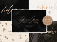 I Want It All Font Bundle By Mel Volkman