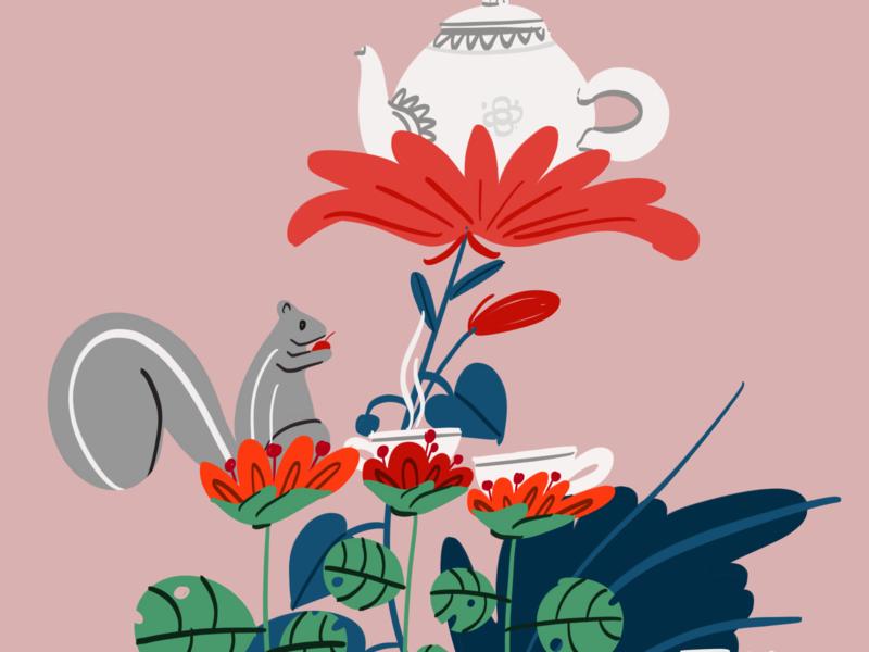 The breakfast branding digital painting procreateapp procreate debut uiux dribbble magical animation color illustration