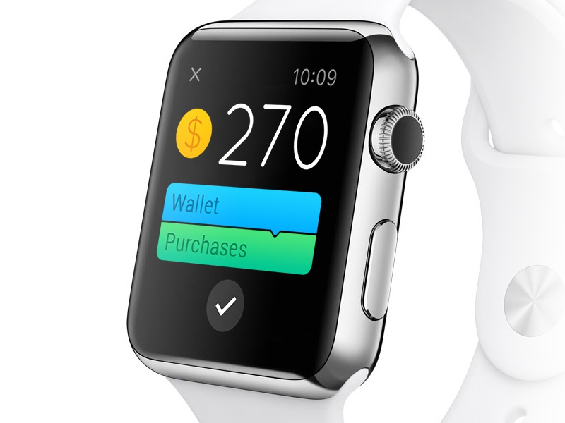 CoinKeeper for Apple Watch coinkeeper coin transaction numbers apple watch iwatch