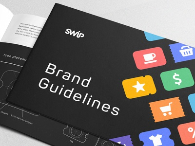 SWiP Brand Guidelines identity cover album colors brand manual gudelines branding palette pages book brandbook