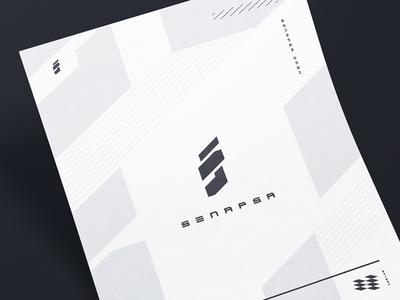 GmbH Logo & Poster cyberpunk letter a4 poster logo branding