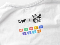 SWiP T-shirt Back