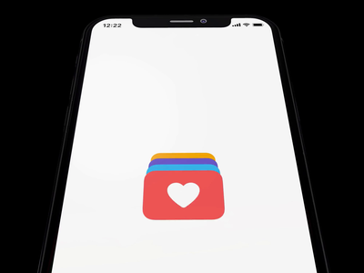 Loading Animation stack card percent gift heart iphone ios load animation loading