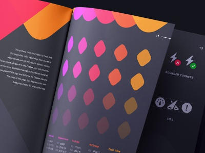 Clubber Branding: Colors and Icons brochure book rules icons colors brandbook branding brand