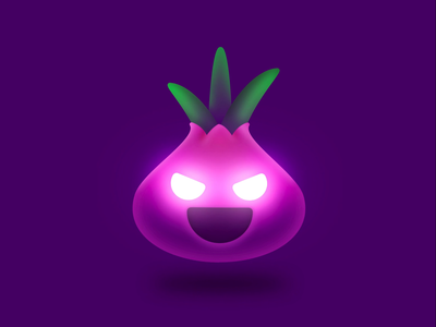Evil Onion Browser loading video animation cartoon character tor onion evil