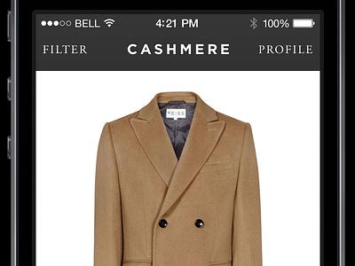 Cashmere III app bro
