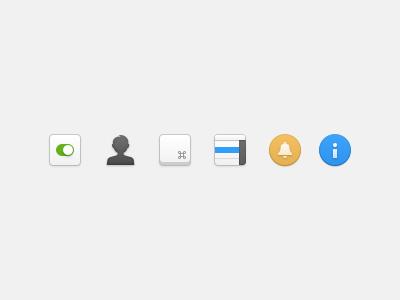 Wunderlist Preferences Icons wunderlist ui icons os x yosemite preferences pane