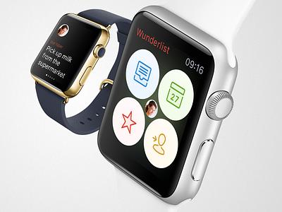 Wunderlist for Apple Watch wunderlist apple watch watch ui wearable