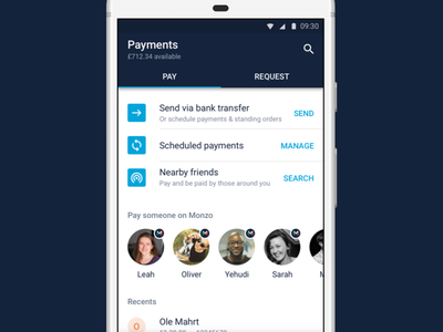 Payments on Monzo the good stuff money monzo payments