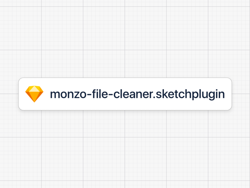Monzo File Cleaner monzo process plugin sketch