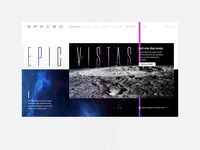 SPACED Launchpad (Homepage)