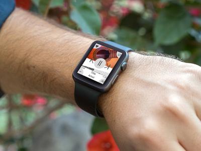 dailyui09 apple watch Music Player