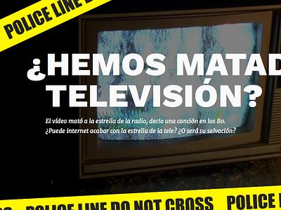 Special post regarding TV digital transform tv investigation longform police merriweather work sans responsive css html design