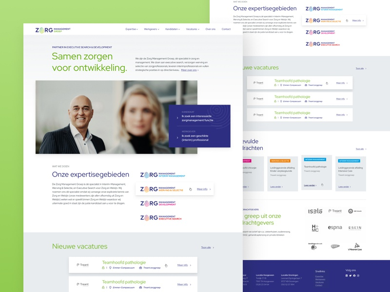 ZMMG new corporate website wcag uxdesign uidesign corporate branding accessibility