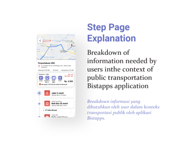 Step Page Explanation || Public Transportation App || Bistapps public transportation app design brt busway app bus rapid transit blue app app design future app bistapps