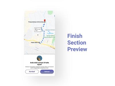User Interface Finish Section Preview || Public Transport App public transport app ui design brt busway app bus rapid transit blue app app design future app bistapps