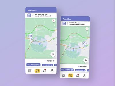 Position Transport || Public Transportation App || Bistapps public transportation app ui brt busway app bus rapid transit blue app app design future app bistapps