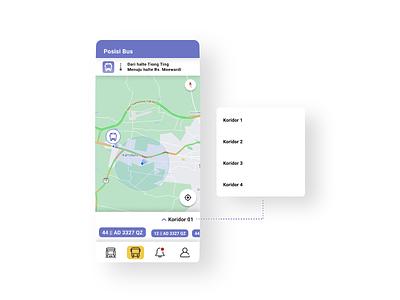 Public Transportation App || Live Position Bus || Bistapps public transportation app ui brt busway app bus rapid transit blue app app design future app bistapps