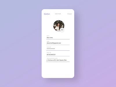 Profile Edit Section UX || Public Transportation App || Bistapps travel app study case ui design brt busway app bus rapid transit blue app app design future app bistapps