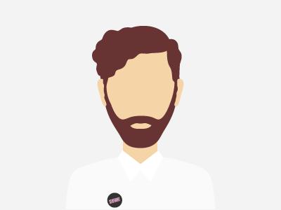 Beyography beyography beyonce flat icon illustration avatar