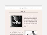 Lebel & Crowe website