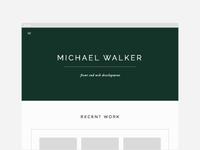 Michael Walker website