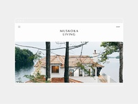 Muskoka Living Website