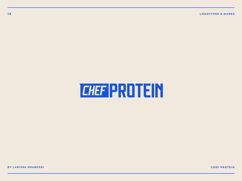 Chef Protein Project healthy food heathy foodie chef proteins protein branding design food branding logo design logodesign brand design logotype brand logo brand identity
