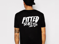 Fitted State Icy Tee