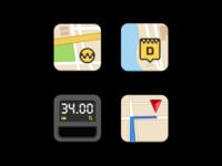 Icons Taksimetre