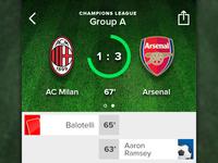 Live Score - iOS7