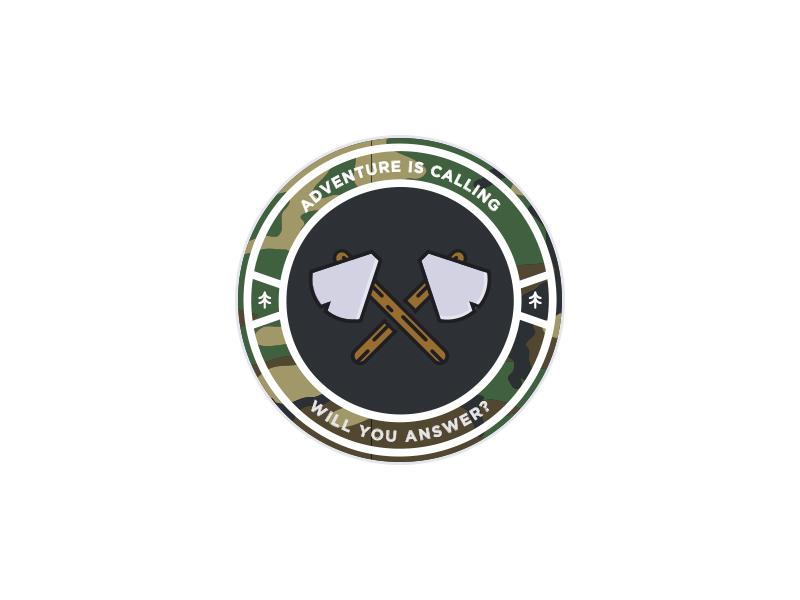 Axes badge