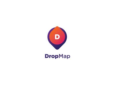 DropMap Logomark