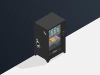 Isometric Vending Machine