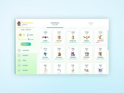 Pokemon GO Desktop Application design robinson austin app go pokemon