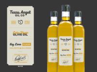Texas Angel Oil Label