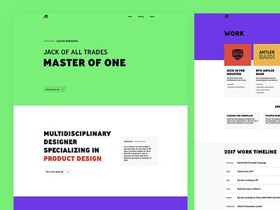 Austin Robinson - New Portfolio student internship design multidisciplinary designer product colors crazy portfolio new robinson austin