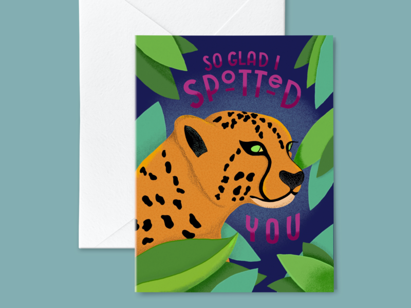 So Glad I Spotted You Greeting Card