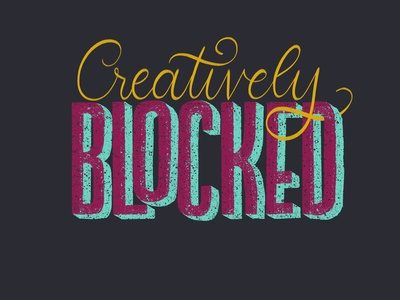 Creatively Blocked